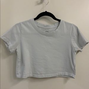 Urban Outfitters Cropped Tshirt